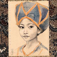 "Stéphanie Ledoux - Carnets de voyage - ""Keysa"" - Girl from Sumatra - Khatam Quran Day - Indonesia"