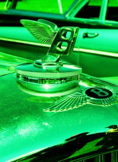 The Green B. Picture taken by Jeff Schuster and Danielle Schuster at a Car Show in Gunnison CO. Find more like it @ ARTEsoteric.com where you can order almost anything Art related.