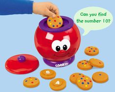 Count-With-Me Talking Cookie Jar at Lakeshore Learning