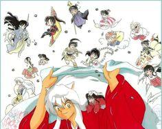 Tags: Rin (InuYasha), InuYasha, Shippo, Higurashi Kagome, Kirara, Jaken, Sesshoumaru, Naraku, Sango, Miroku, InuYasha (Character), Kikyo (InuYasha), Kohaku (InuYasha), InuYasha (Human Form), Artist Request, Kaede (InuYasha), Buyo (Inuyasha)