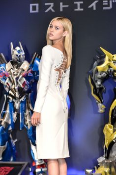 Nicola Peltz attends the press conference for Japan premiere of 'Transformers : Age Of Extinction' at Tokyo Midtown on July 29, 2014 in Tokyo, Japan