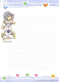 Very like Sarah Kay Stationary Printable, Printable Lined Paper, Stationary School, Sarah Kay, Lined Writing Paper, Envelopes, Holly Hobbie, Day Planners, Note Paper