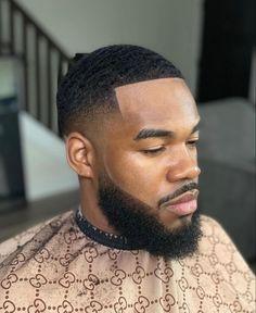 Low Fade Mens Haircut, Black Boys Haircuts Fade, Black Man Haircut Fade, Types Of Fade Haircut, Black Hair Cuts, Black Men Hairstyles, Waves Hairstyle Men, Waves Haircut, Beard Styles For Men