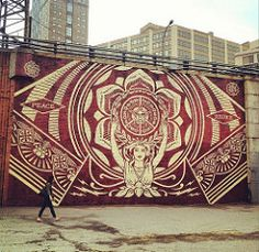 Shepard Fairey Mural | by McMillianCo
