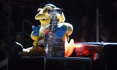 We should do this more often Toledo Walleye, Darth Vader, Character, Lettering