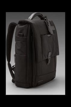 Tumi Convertible Laptop Brief in Black | REVOLVE