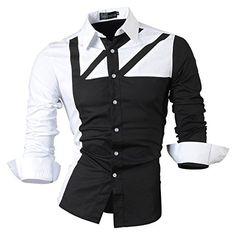 Jeansian Men's Slim Fit Long Sleeves Casual Shirts 8312 B... http://www.amazon.com/dp/B00IRWBS8G/ref=cm_sw_r_pi_dp_sb9hxb0JFH3VM