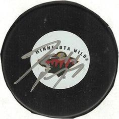 Jared Spurgeon Autographed Hockey Puck #SportsMemorabilia #MinnesotaWild