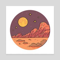 Our full catalog of gallery quality art prints for sale. Cute Canvas Paintings, Easy Canvas Painting, Moon Painting, Canvas Art, Vinyl Record Art, Vinyl Art, Harry Styles Drawing, Moon Drawing, Cd Art