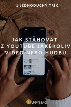 Jak stahovat z Youtube video nebo hudbu během pár sekund? Díky tomuto jednoduchému triku se naučíte, jak stahovat z Youtube jakékoliv písničky a videa. #youtubevideo #youtube #jakstahovatvidea