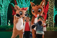 Rudolph's ChristmasTown is new this year at SeaWorld Christmas Celebration