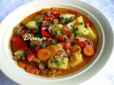 Danina kuhinja: Čorba sa mlevenim mesom i povrćem