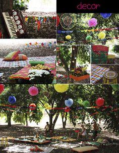 Milonga: Aniversário feito à mão - piquenique no meio da rua