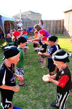 "Photo 6 of 29: Pirate Birthday Boy / Birthday ""Drew's Pirate P-AARRRRR-TY"" | Catch My Party"