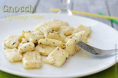 gnocchi s tymiánovým máslem
