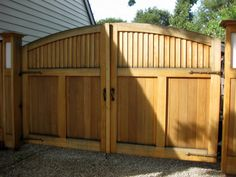 Simple Fence Gate Design wooden fence gates designs | custom arched good neighbor wood