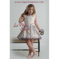 64386c00b Conjunto niña falda y blusa, colección Andrea. La Marquesita Real.  Temporada Primavera Verano