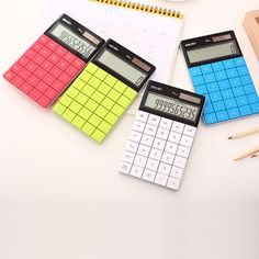 Cheap solar calculator, Buy Quality transparent solar calculator directly from China calculator solar Suppliers: LCD Display Digits LCD 12 Digit Ultra slim Transparent Solar Calculator for Student School Office tudents Children Gift Solar Power Calculator, Office And School Supplies, School Office, Ali Express, Solar Energy, Deli, Gifts For Kids, Slime, Display