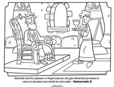 Kids coloring page from What s in the Bible showing Peter