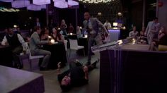 #Psych --- OW!!! Shawn got #BlindNinja-ed  ---  She's not blind, but she does have astigmatism like Gus (me, too)! #CogBlocked