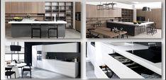 مطبخ مودرن Loft, Bed, Modern, Kitchen, Furniture, Home Decor, Trendy Tree, Cooking, Decoration Home