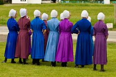 This was taken of some girls at the local New Order Amish Community in Missouri.