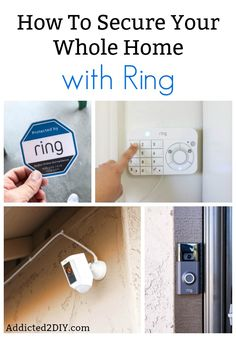Learn how you can secure your whole home with the Ring line of products. From … Learn how you can secure your whole home with the Ring line of products. From cameras, to doorbells, to their home security system, Ring has your home covered. Best Home Security System, Home Security Tips, Wireless Home Security Systems, Security Cameras For Home, Best Security Camera System, Alarm Systems For Home, Ring Security, Security Alarm, Adt Security