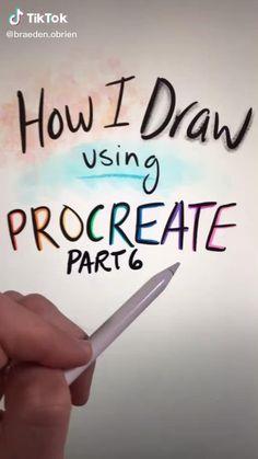 Digital Painting Tutorials, Digital Art Tutorial, Art Tutorials, Art Drawings Sketches Simple, Drawing Tips, Pencil Art Drawings, Drawing Techniques, Digital Art Beginner, Ipad Art