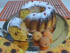 Ciambella soffice albicocche e bacche di Goji Bagel, Doughnut, Food Porn, Bread, Desserts, Blog, Recipes, Tailgate Desserts, Deserts