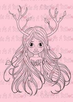 Cute As A Button Designs IMG00460 Deer Eva Digital Digi Stamp #school #craft #valentine #cardmaking, #challenge, #precolored, #copic, #newyear #digistamp, #digi, #scrapbooking #papercraft, #copicmarkers, #rubberstamp, #anime #christmas #jesus #king #blog #facebook #challenge #francescalopez #cards #cuteasabuttonstamps #cuteasabutton #contest #art #latinaart #drawing #lineart #coloring, #christmas, #fairy http://cute-as-a-button-stamps.myshopify