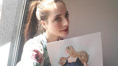 """Welcome to Lidia in Wonderland"" watercolours #watercolours #Lidiainwonderland #before&after #murkywoods #musical #patreon #musicvideo #aftereffect #chroma #lidiaguglieri #music #makingof #originalmusic #youtube #2danimation #originalsongs #art"