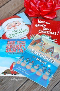 B is for Books - christmas books for kids Childrens Christmas Crafts, Christmas Books For Kids, Grinch Christmas, Christmas Music, Christmas Love, Winter Christmas, Christmas Themes, Favorite Holiday, Holiday Fun