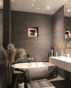 Find images and videos about home, design and house on We Heart It - the app to get lost in what you love. Dream Bathrooms, Beautiful Bathrooms, Master Bathrooms, Master Baths, Dream Home Design, Home Interior Design, Ikea Interior, Modern House Design, Contemporary Interior