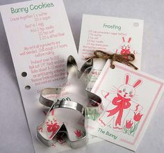 Flour Box Bakery — Bunny video with this cute cutter!