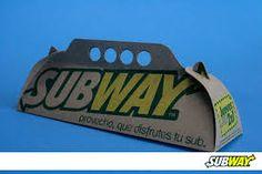 Resultado de imagen para empaque de subway