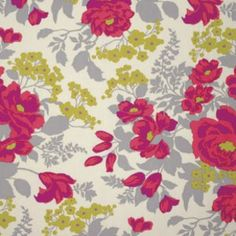 Joel Dewberry - Flora Rayon - Rose Bouquet Rayon in Poppy