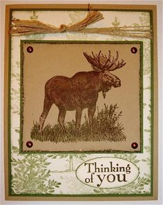 In the North Woods by NaomiW - Cards and Paper Crafts at Splitcoaststampers