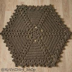 Crochet Coaster Pattern, Crochet Square Patterns, Crochet Squares, Crochet Chart, Crochet Motif, Crochet Designs, Crochet Lace, Free Crochet, Crochet Dollies