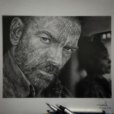 Graphite pencils on paper -102415 #Znation #murphy #syfy by ruthnolasco4_artworks