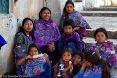Familia maya-tzotzil #Zinacantan #Chiapas