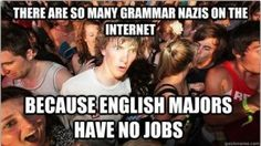 Well, until they realize they can teach language arts...