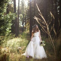Romantic enchanted forest inspiration