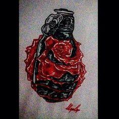 #disegno #rosa #bomba #rosarossa #momentiartistici #drawing #art My Works, Maya, Drawings, Instagram Posts, Sketches, Drawing, Portrait, Draw, Maya Civilization