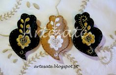 ArtesaTé: Artesaté DeCoração Hand Embroidery, Portugal, Arts And Crafts, Bullet Journal, Jewels, Drop Earrings, Minho, Diy, Lisbon