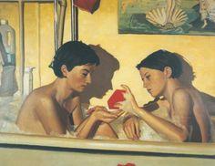 by Frank Bauer Gerhard Richter, Couple, Poster, Painting, Art, Man Women, Art Background, Painting Art, Couples