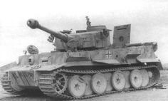 "Német tank ""Tiger"" Panzerkampfwagen VI «Tiger I» Ausf E, VK4501"