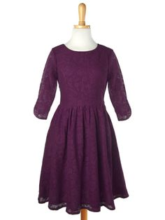 Find this glamorous lace dress by Mata traders, a fair trade fashion brand, at Green Box Boutique, greenboxboutique.com.