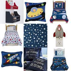Love the rocket & stars room!