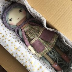Mabli is so excited to be the first Seren Doll travelling to Germany! Safe travels little one .…