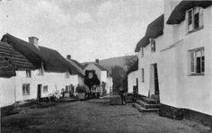Cob village, Devonshire 1915